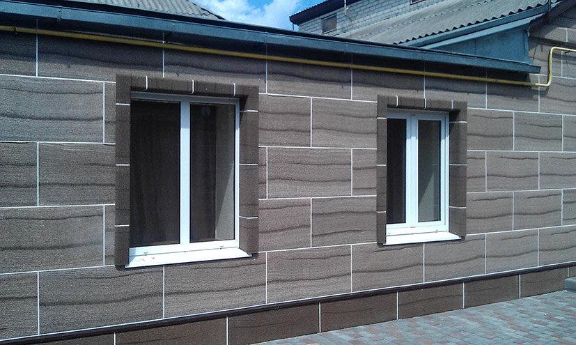 Фасадные облицовочные панели с утеплителем