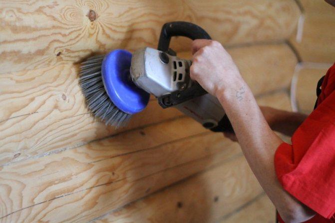 Шлифовка сруба своими руками: тонкости и пошаговая инструкция