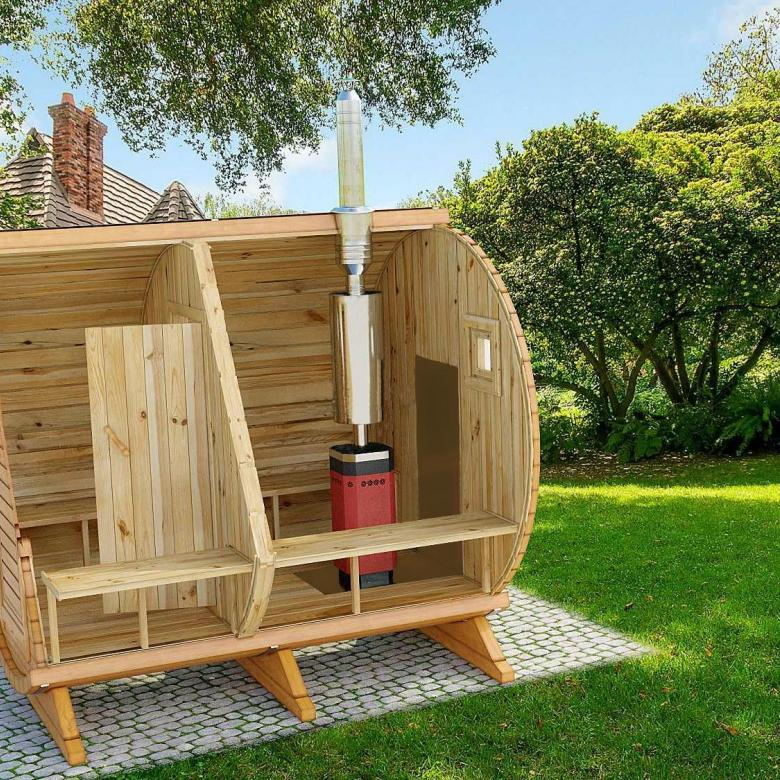 Выбираем баню-бочку для дачи | сад и огород - интернет журнал о даче