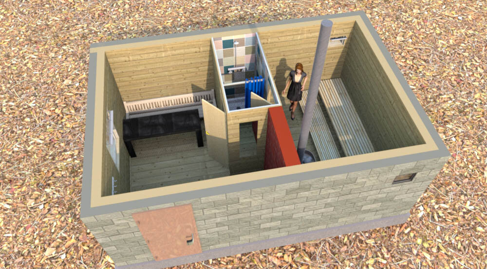 Баня из газобетона: свойства материала, пошаговая инструкция по строительству бани из блоков