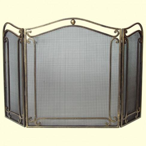 Защитный экран для камина, готовые решения и самостоятельное изготовление