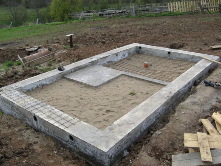 Фундамент для бани 4х6 своими руками: инструкция по шагам, возможные ошибки, фото