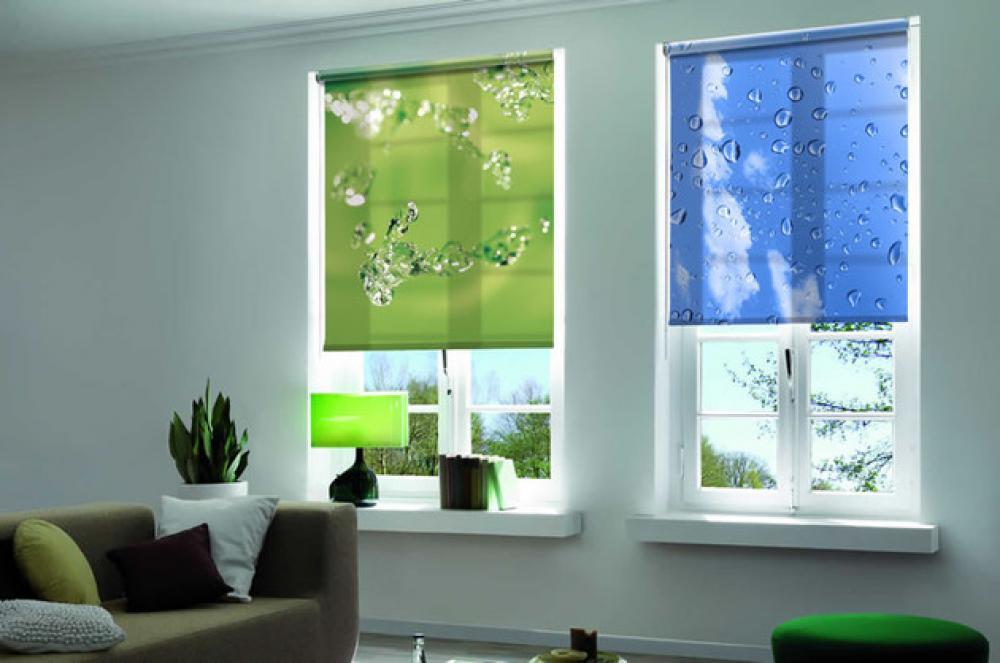 Рулонные шторы - фото 100 идей дизайна штор на пластиковые окна