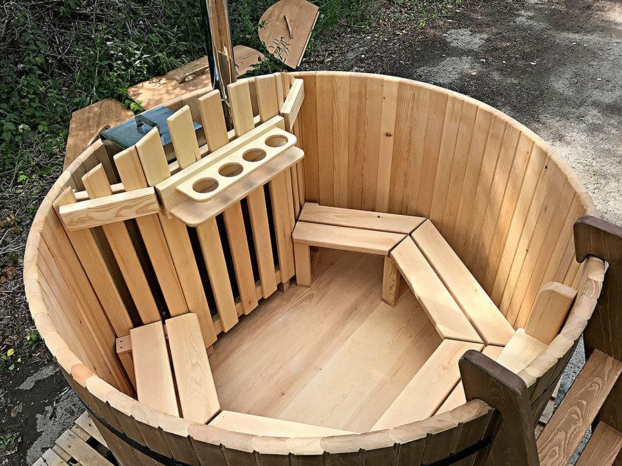 Японская баня (66 фото): офуро, фурако и сэнто - что это такое, сауна-бочка своими руками, вариант с дровяной печкой