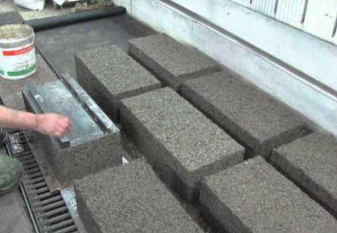 Арболитовые блоки своими руками