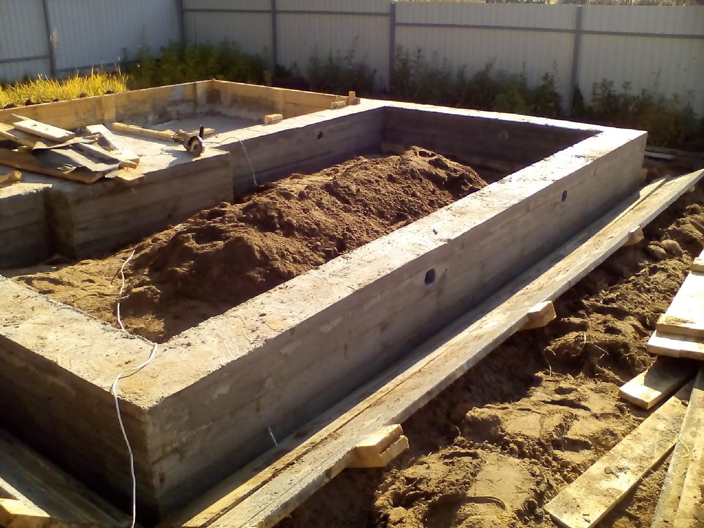 Фундамент для бани: как сделать грамотно различные виды фундаментов