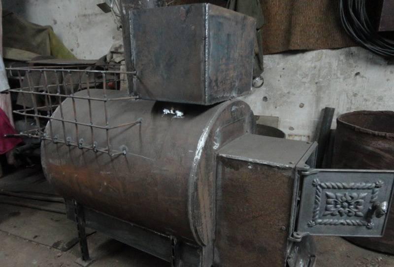 Самодельные банные печи из трубы 530: чертежи, видео инструкция