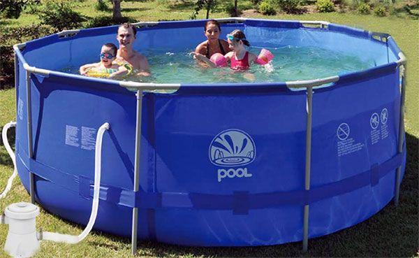 Как выбрать каркасный бассейн? какой лучше подойдет для дачи?