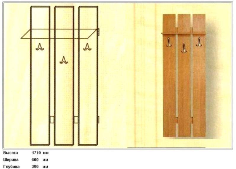 Вешалки из дерева в бане: фото, как самому сделать вешалку и полку для бани