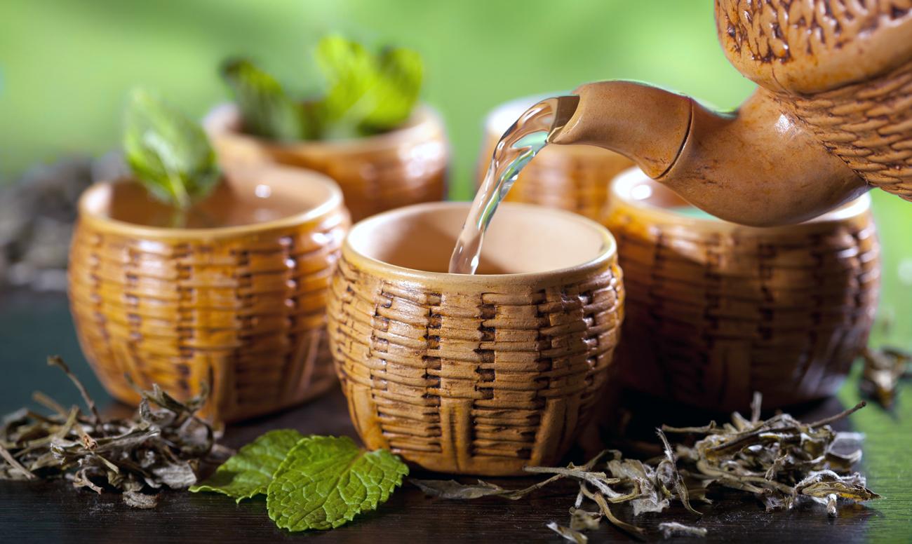 Рецепты чаев для бани — травяные, для похудения