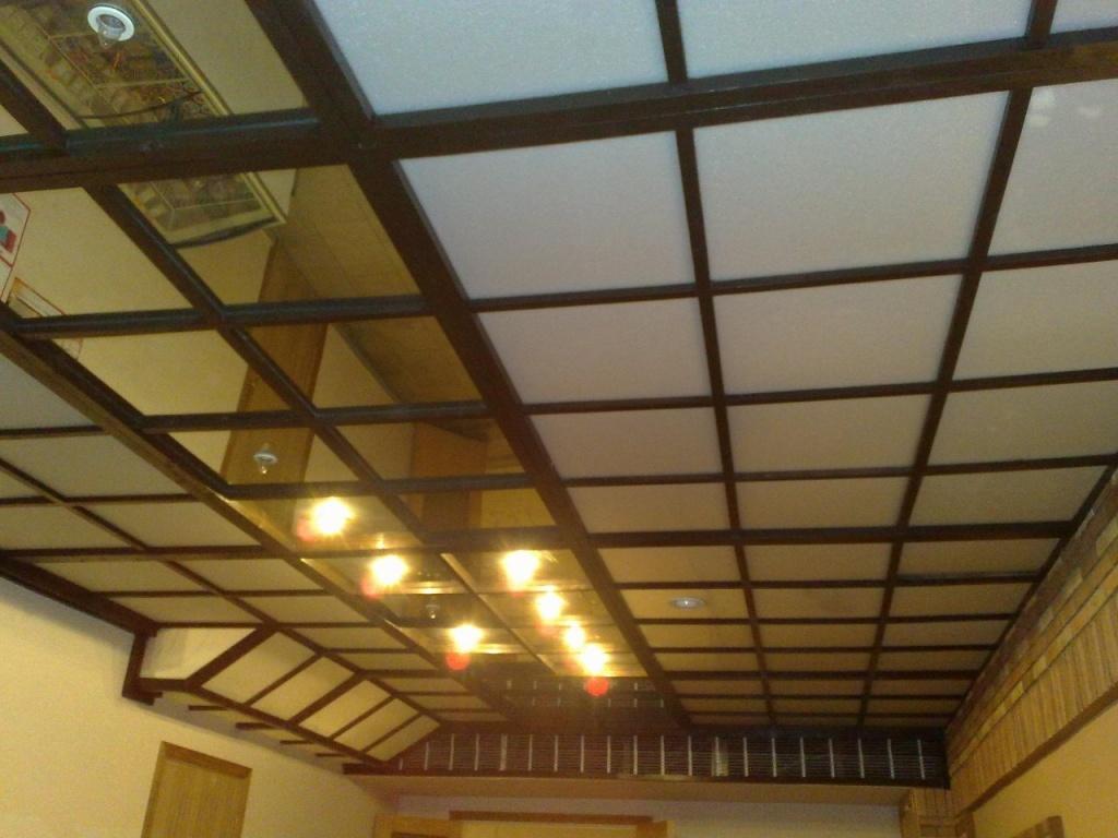 Что собой представляет подшивной потолок?