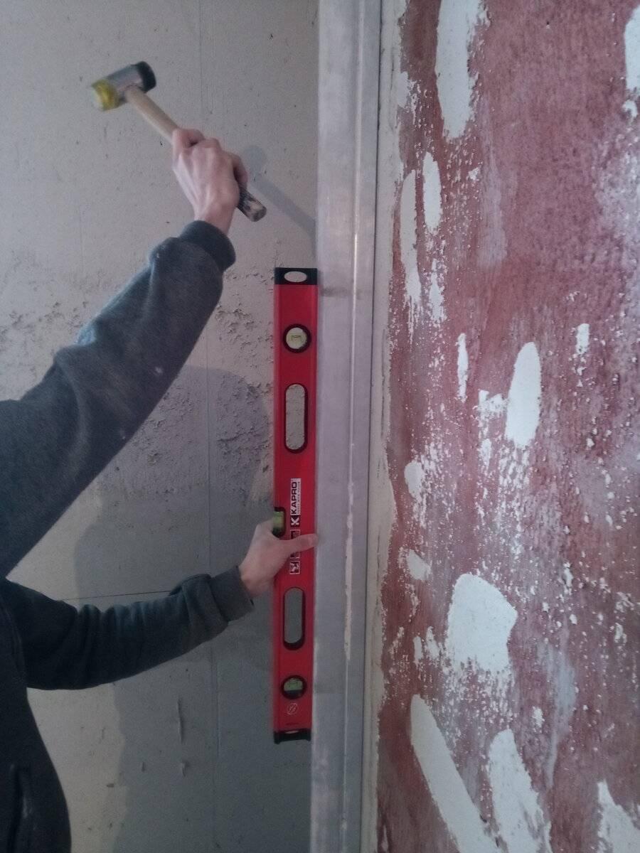Как правильно выставить маяки для штукатурки стен: пошаговая инструкция, виды и советы по выбору