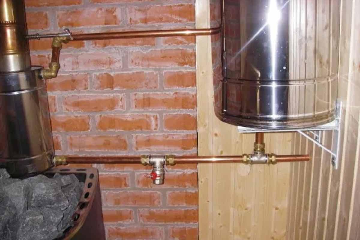 Делаем сами теплообменник на трубу дымохода для отопления