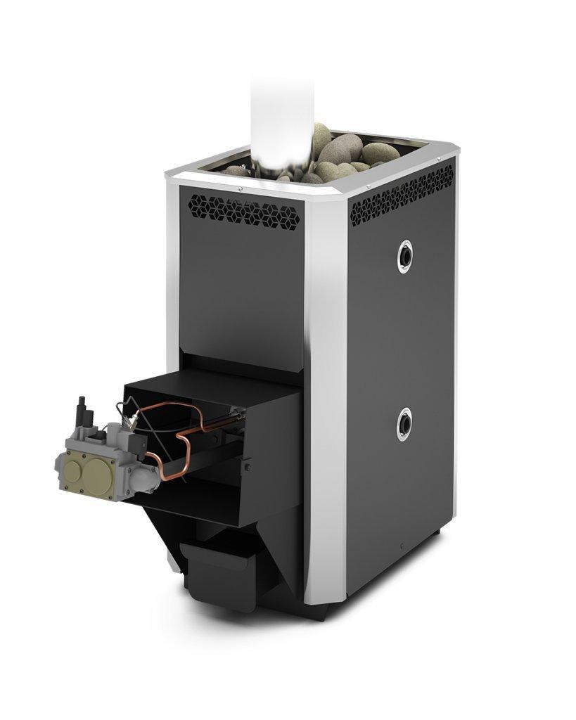 Газовый котёл для бани: классификация, расчет, преимущества, тип дымохода