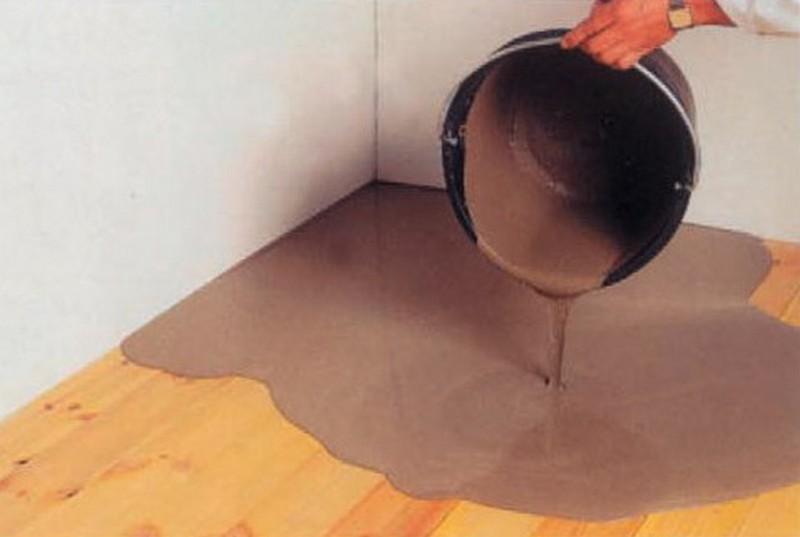 Стяжка на деревянный пол под плитку – правила устройства