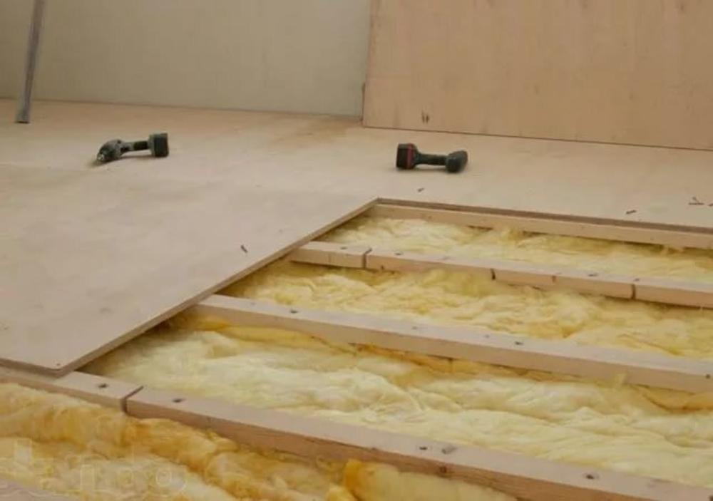 Укладка фанеры на бетонный пол: выбор материала, нюансы проведения работ