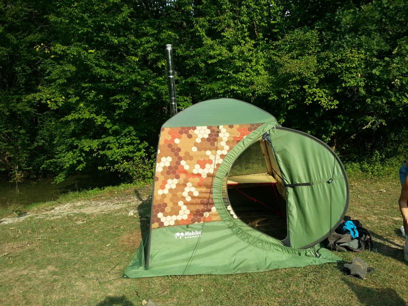 Мобильная палатка-баня с печкой своими руками (чертежи)