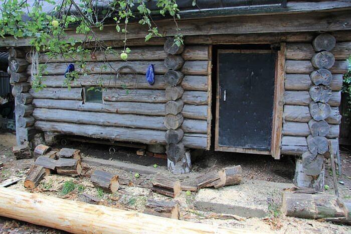 Реставрация старого дома в деревне. внутренняя отделка