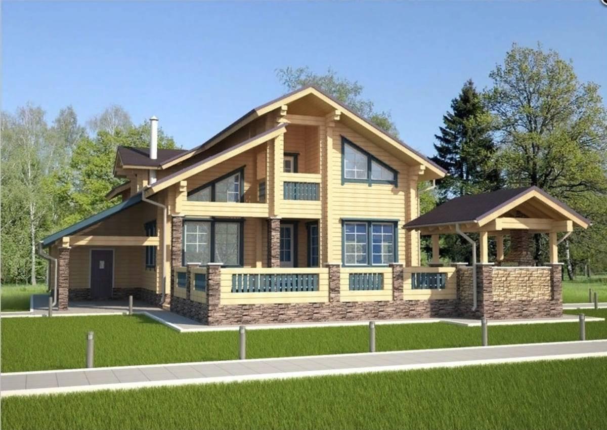 Строительство домов из клееного бруса под ключ в москве и других регионах, проекты, цены от производителя, фото