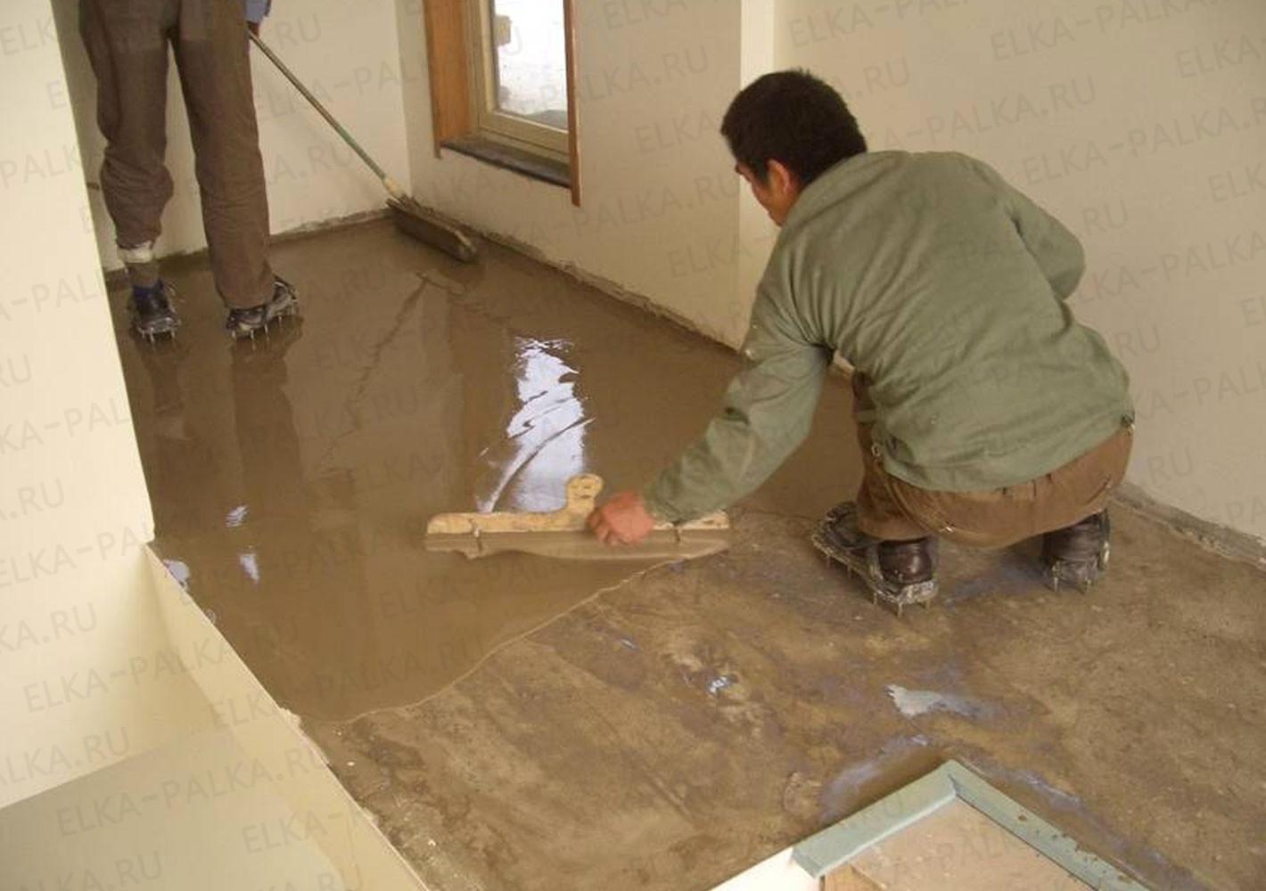 Как самостоятельно сделать наливной пол в квартире