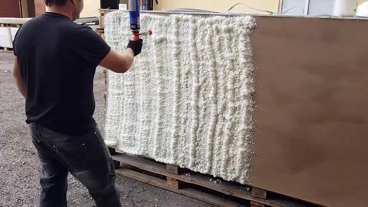 Пена в баллонах для утепления стен