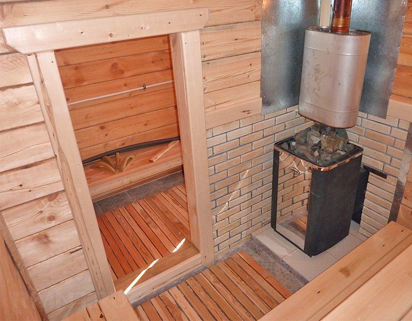Как правильно установить печь в бане