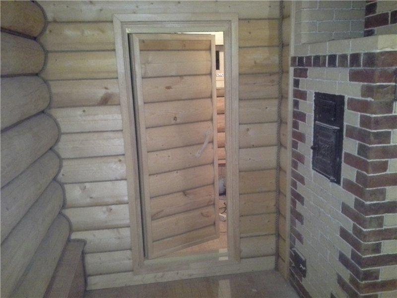 Дверь в баню своими руками: пошаговая инструкция, как сделать дверь