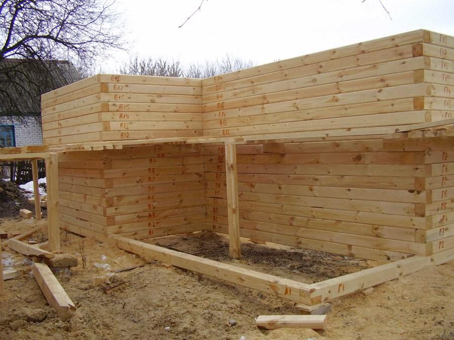 Строим баню своими руками - поэтапный показ строительства и описание!