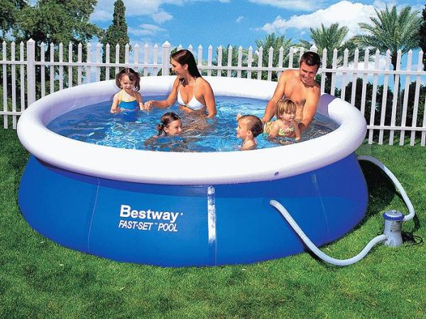 Каркасный или надувной бассейн лучше?
