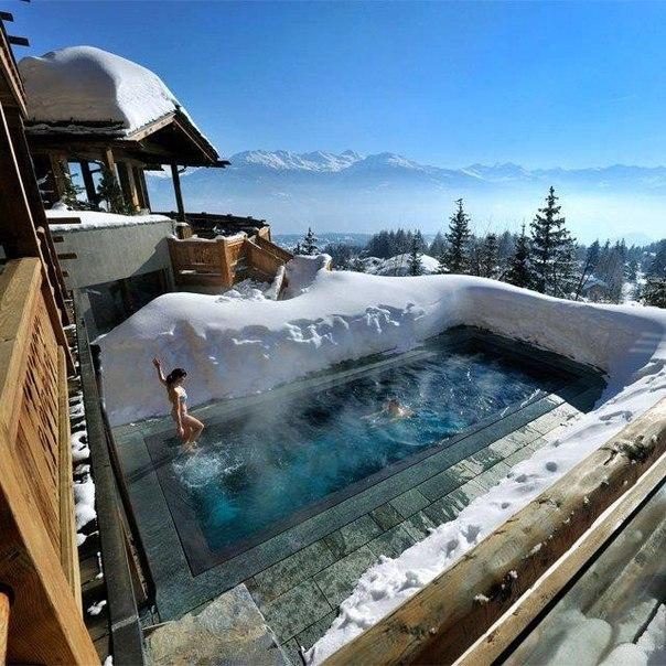 Как построить бассейн для зимнего периода