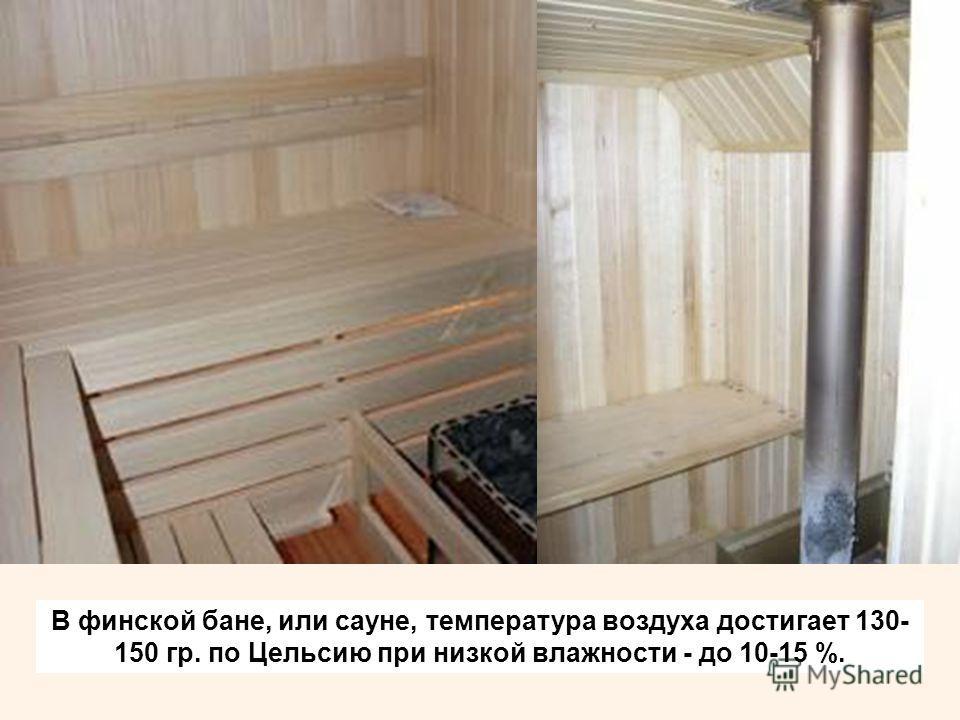 Какая температура в русской бане в парилке должна быть