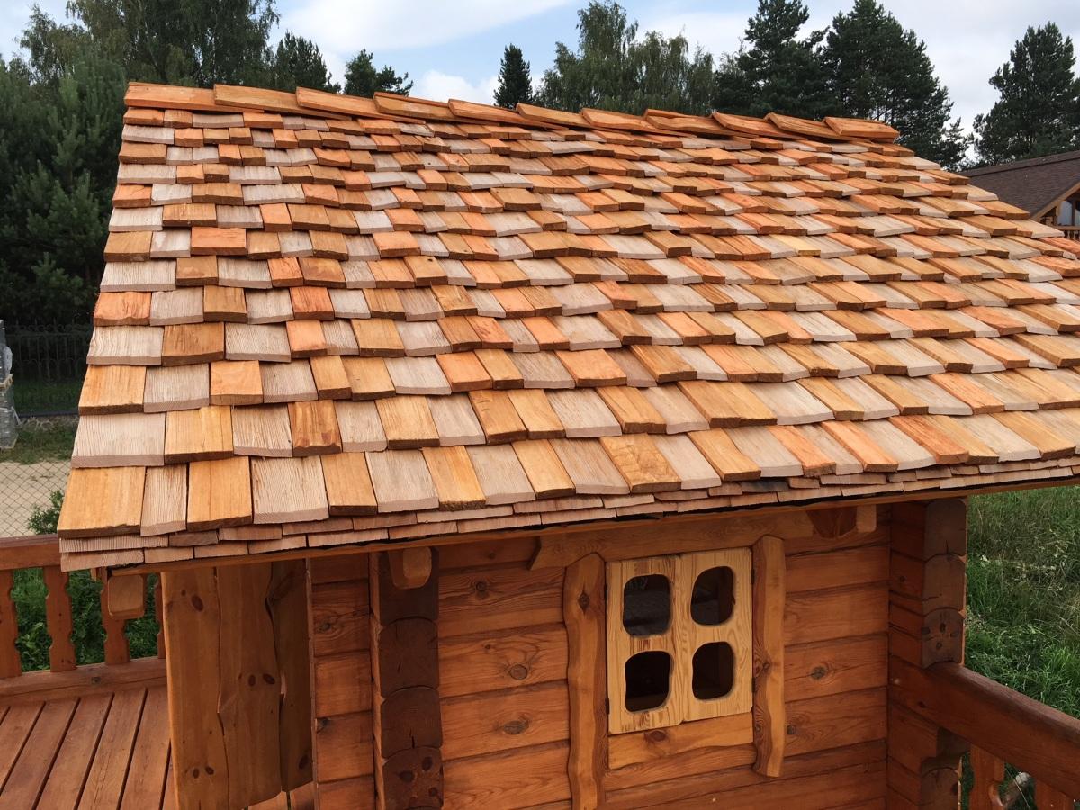 Одна доска теса, тесовая крыша