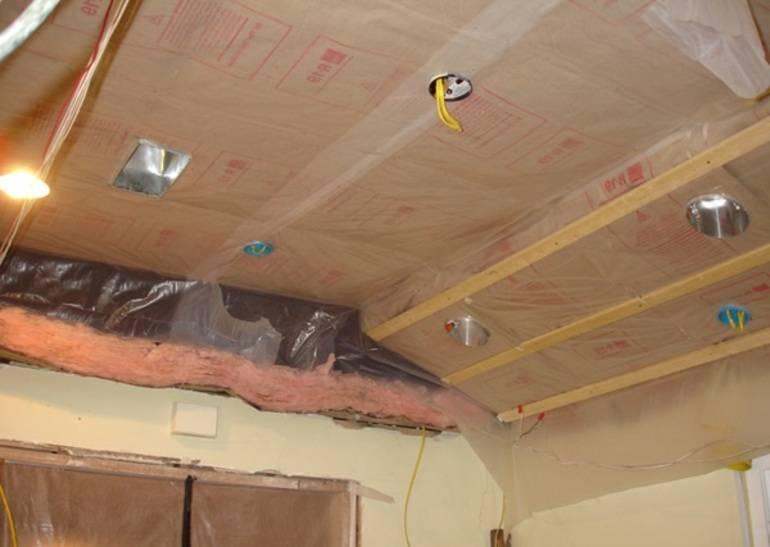 Подшивной потолок в бане своими руками - пошаговая инструкция по монтажу!