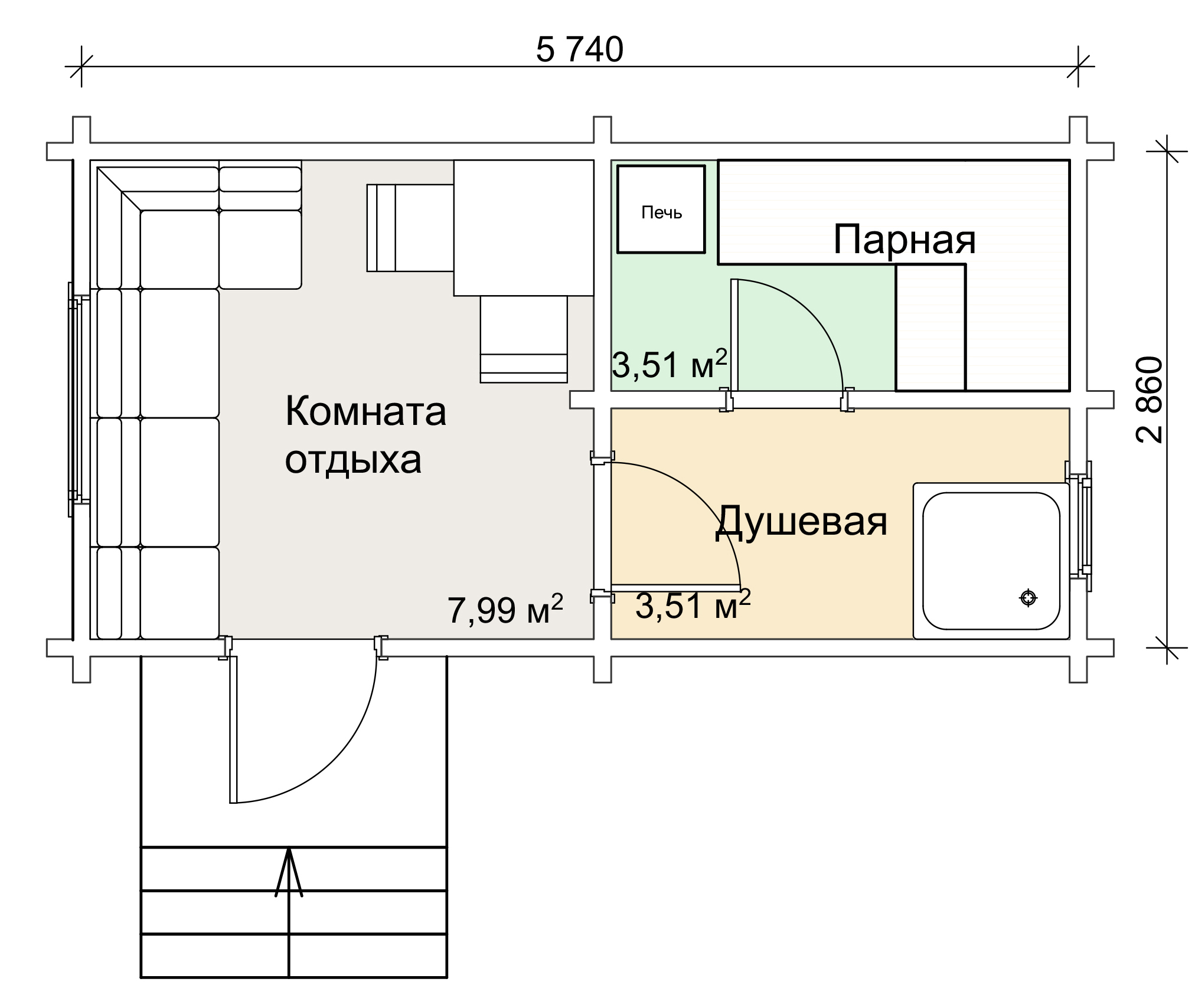 Устройство бани: парилка внутри русской бани, кирпичная парная, как обустроить конструкцию предбанника, фото и видео