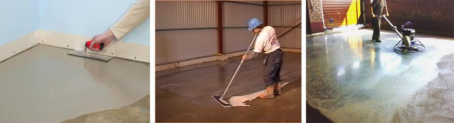 Как самому сделать железнение бетона