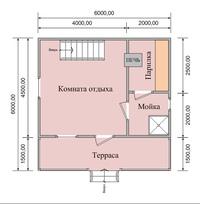 Планировка бани размером 4х6 - мойка и парилка отдельно (65 фото): план внутри помещения площадью 4 на 6, чертежи и схемы вариантов метражом 6х4
