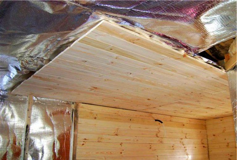 Чем утеплить потолок в бане - обзор лучших утеплителей для бани