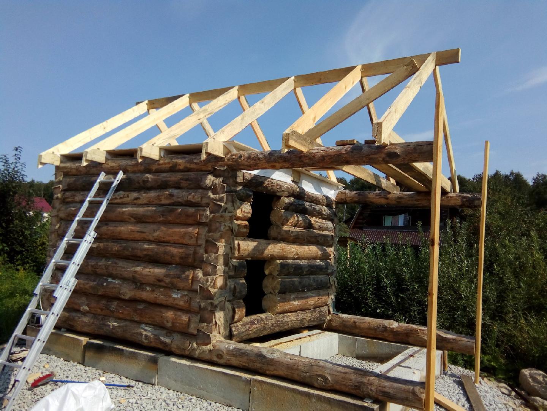 Как сделать крышу на бане. банная крыша своими руками