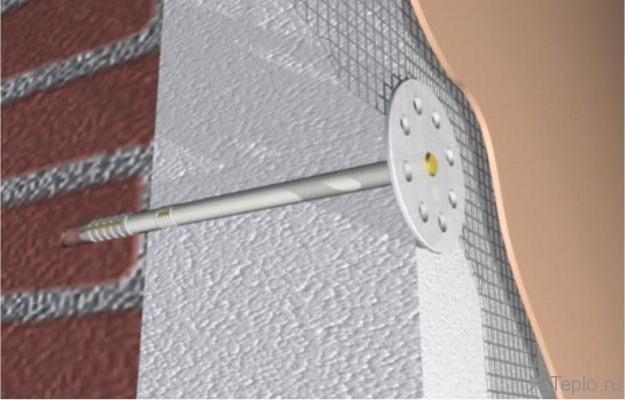 Как крепить утеплитель к стене: крепеж теплоизолятора к деревянной, кирпичной стене