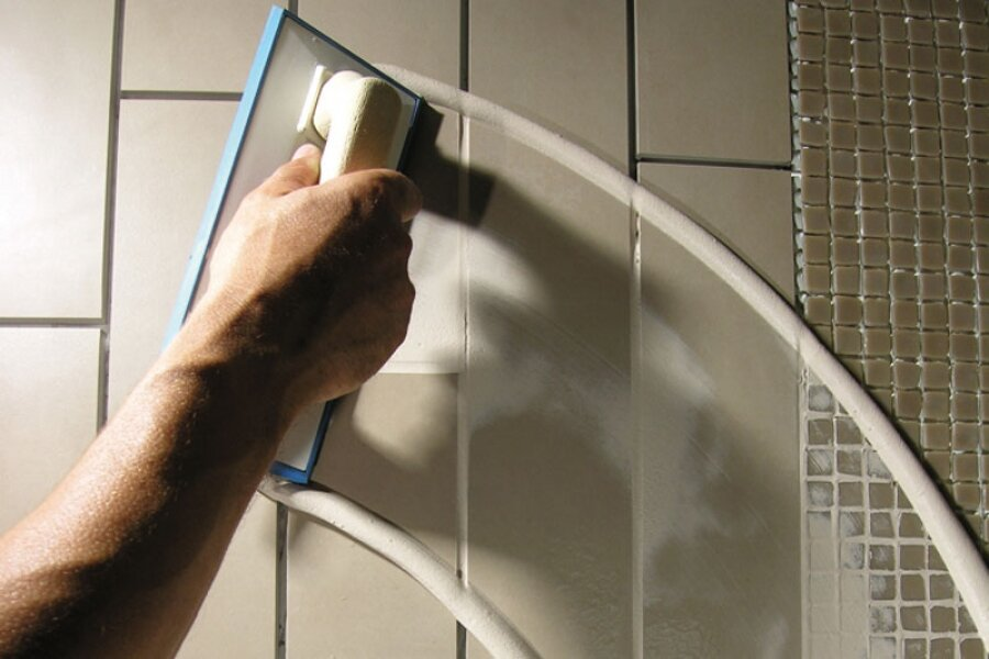 Какую выбрать затирку для обработки поверхности плитки в ванной