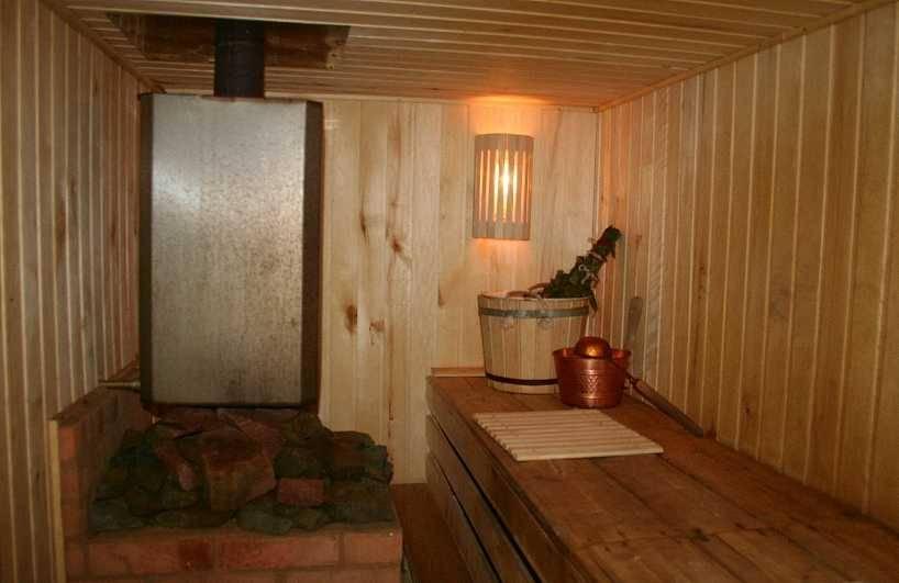 Правила строительства сауны в доме