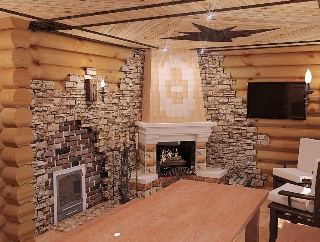 Предбанник своими руками, фото, дизайн отделка внутри, потолок и стены