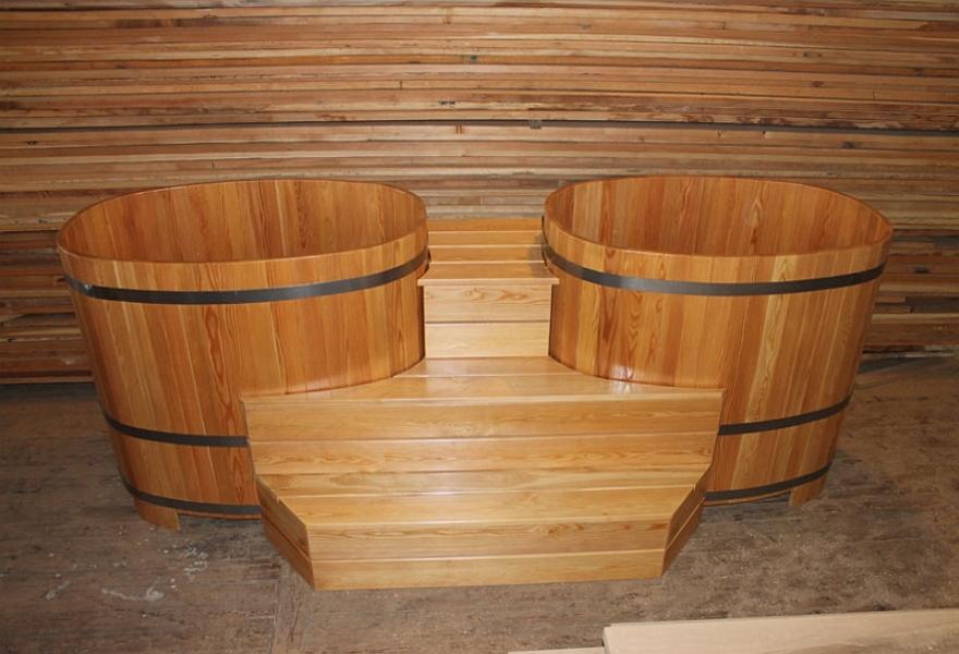 Деревянные купели для бани.какая древесина лучше?