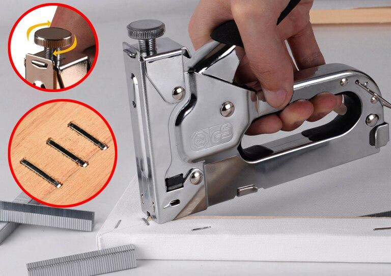 Строительный степлер – как правильно выбрать, настроить и пользоваться?