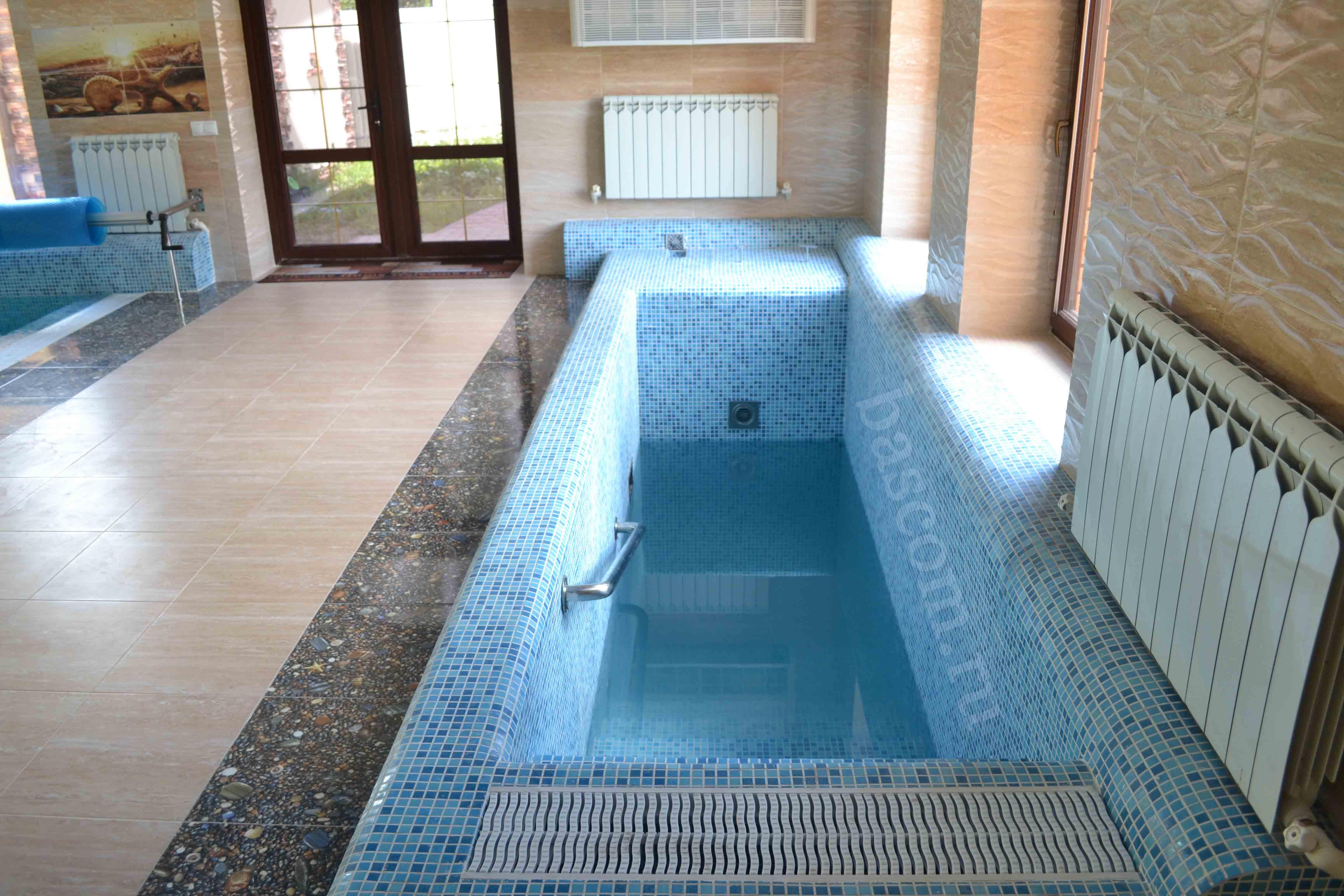 Строительство бассейна для бани своими руками