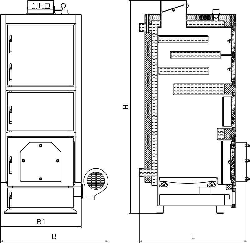 Пиролизные котлы своими руками - принцип работы, инструкция и чертежи
