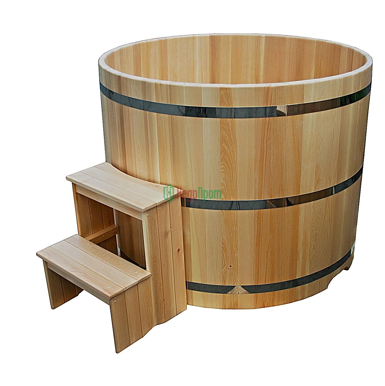 Купель для бани своими руками из полипропилена, размеры, как сделать