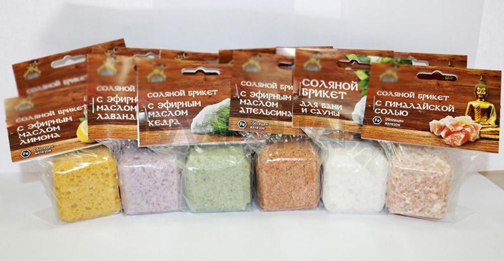 Соль для бани и сауны используем для красоты и здоровья