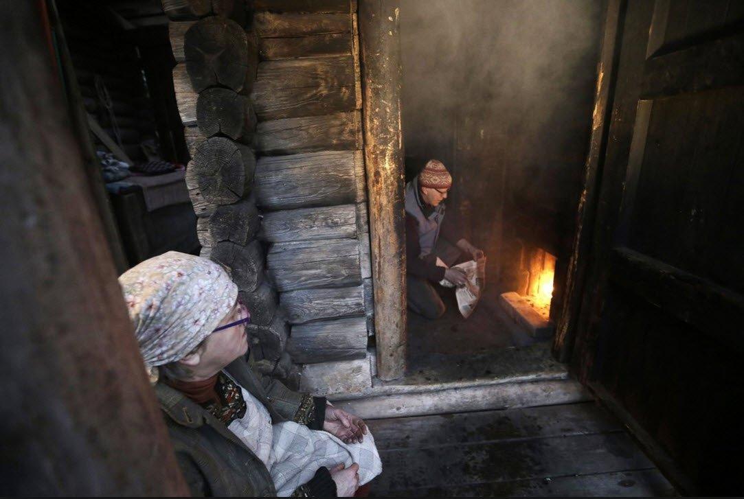 Баня по-черному, или как построить традиционную русскую парную без дымохода?